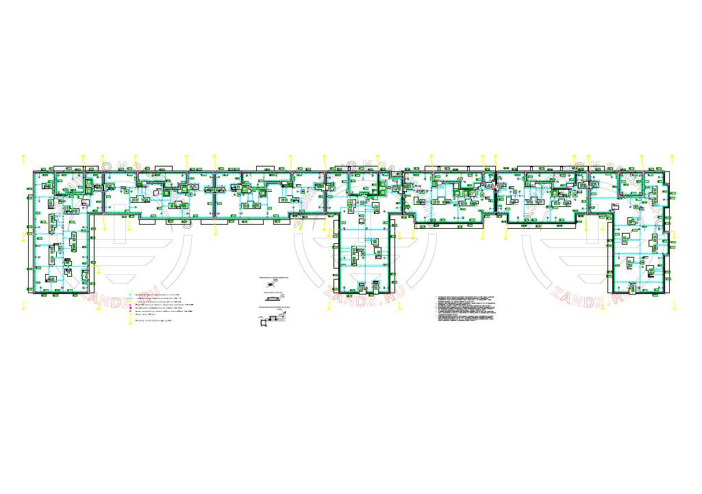 Проект заземления и молниезащиты для жилого многоквартирного дома, вид 2