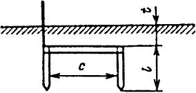 Стальной двухстержневой: полоса размером 40×4 мм стержни диаметром d=10-20 мм