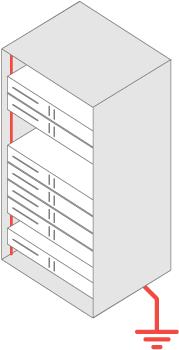 Заземление шкафа